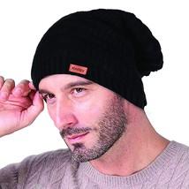 Women's Men Knit Slouchy Baggy Beanie Oversize Winter Hat Ski Fleece Slouchy Cap - $30.00
