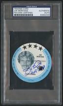 Joe Montana Signed 1981 MSA Holsum Discs Rookie Card PSA/DNA Autograph - $399.99
