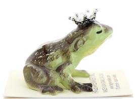 Hagen-Renaker Miniature Frog Prince Kissing Birthstone 04 April Diamond image 2