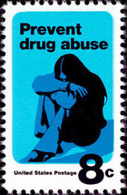 1971 8c Prevent Drug Abuse Scott 1438 Mint F/VF NH - $0.99