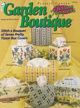 Garden Tissue Toppers Boutique, Plastic Canvas Pattern Booklet HWB 181036 - $4.95