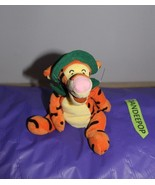 """Walt Disney World Winnie The Pooh Tigger With Green Hat And Tie 8"""" - $12.86"""