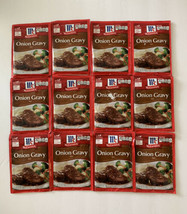12 McCormick Onion Gravy Mix Spice Packet 0.87 Oz Each Best By: 04/22 - $29.99