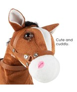 Interactive Animated Plush Horse Toy with Leash - $54.50