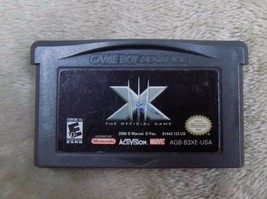 X-Men: The Official Game (Game Boy Advance, 2006) - Cartridge Only  - $5.00