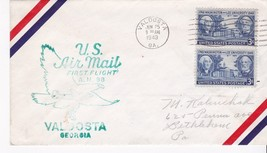 FIRST FLIGHT VALDOSTA, GA - JACKSONVILLE, FL JUNE 25, 1949 AM-98 - $1.98