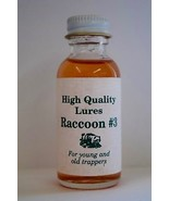 "High Quality ""Raccoon #3"" 1 oz  Lure  Trap Trapping Bait Bobcat Fox Coyote - $9.75"