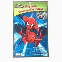 Marvel Ultimate Spiderman Play Pack Crayon Stickers Coloring Book Bendon - $4.50