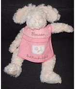 Blossom Bunnies by the Bay Bunny Rabbit Plush Stuffed Animal Pink Dress ... - $24.72