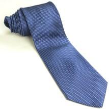 Navy Blue White Polka Dot Tie | Neiman Marcus Necktie - $59.39