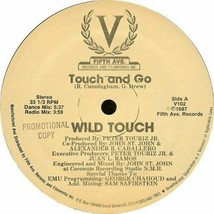 WILD TOUCH - TOUCH AND GO U.S. 12 INCH SINGLE RECORD 1987 4 TRACKS FREES... - $4.95