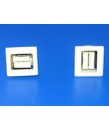 GE Dryer : Door Catch Set of 2 (WE1M1011 / WE01X0903) {TF2302} - $14.84