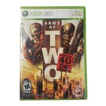 Microsoft Xbox 360 Army of Two: The 40th Day Video Game (Complete, 2010) - $12.55