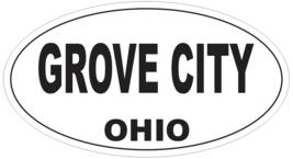 Grove City Ohio Oval Bumper Sticker or Helmet Sticker D6105 - $1.39+