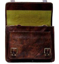 Handmade_World Men's Leather Messenger Bag Laptop Computer Handmade Bag image 7