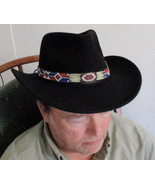 American Made! Will you wear the Red, White & Blue Hatband with Porcupin... - $84.00