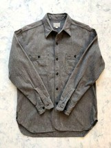 BUZZ RICKSON'S BLACK CHAMBREY WORK SHIRT M23003 Size 15-15 1/2 Used from... - $216.00