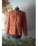 Karen Scott Long Sleeve Women's Suit Jacket Blazer Open Front Size 14 - $39.59