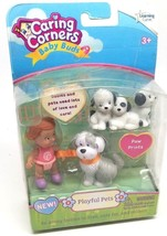 Puppy PLAYFUL PETS Baby Buds Learning Curve Caring Corners Doll Figure S... - $27.99