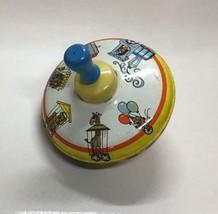 VTG Tin Spinning Top Circus Animals Tin Toy Vintage Nostalgic Toy Bryan ... - $24.99