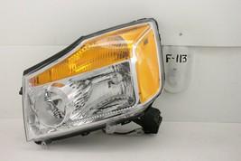 Oem Headlight Head Light Lamp Nissan Titan 15 14 13 12 11 10 09 08 Nicked Trim - $89.10