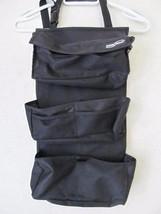 High Road Black Tissue Pockets Over Back of Car Seat Adjustable Organize... - €16,73 EUR