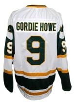 Any Name Number New England Whalers Wha Retro Hockey Jersey Howe White Any Size image 2