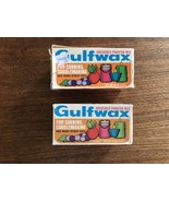 Gulf Wax Household Paraffin Wax For Canning Vintage 2 Boxes - $11.39