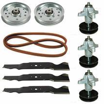"""White Outdoor GT-954 54"""" Mower Deck Parts Spindles Blades Belt Idler Pul... - $209.95"""