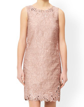 MONSOON Daisy Jacquard Dress Pink Size UK 12 BNWT image 2