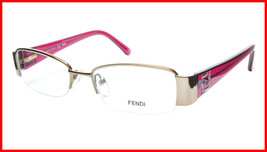 FENDI Eyeglasses Frame F1043R (663) Metal Gold Rose Italy Made 51-17-135... - $177.57