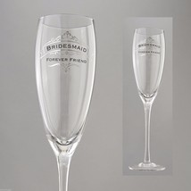 Bridesmaid Forever Friend Toasting Glass Insignia Brand in Gift Box