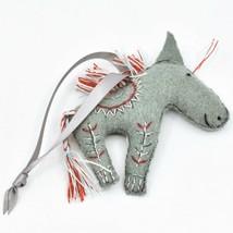 Made 51 Handcrafted Indian Horse Felt Ornament Afghan Refugee Folk Art