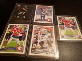 Tom Brady Lot (5) 2011 Topps All Pro #400 Record Breaker #204 MVP #240  ... - $29.69