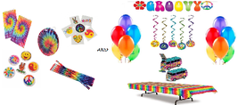 60's Groovy Decorations and Favors Mega-Pack - $39.95