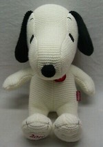 """Just Play 65 Years Peanuts KNIT SNOOPY DOG 15"""" Plush STUFFED ANIMAL Toy - $24.74"""
