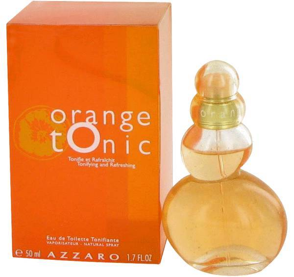 Azzaro orange tonic 1.7 oz perfume