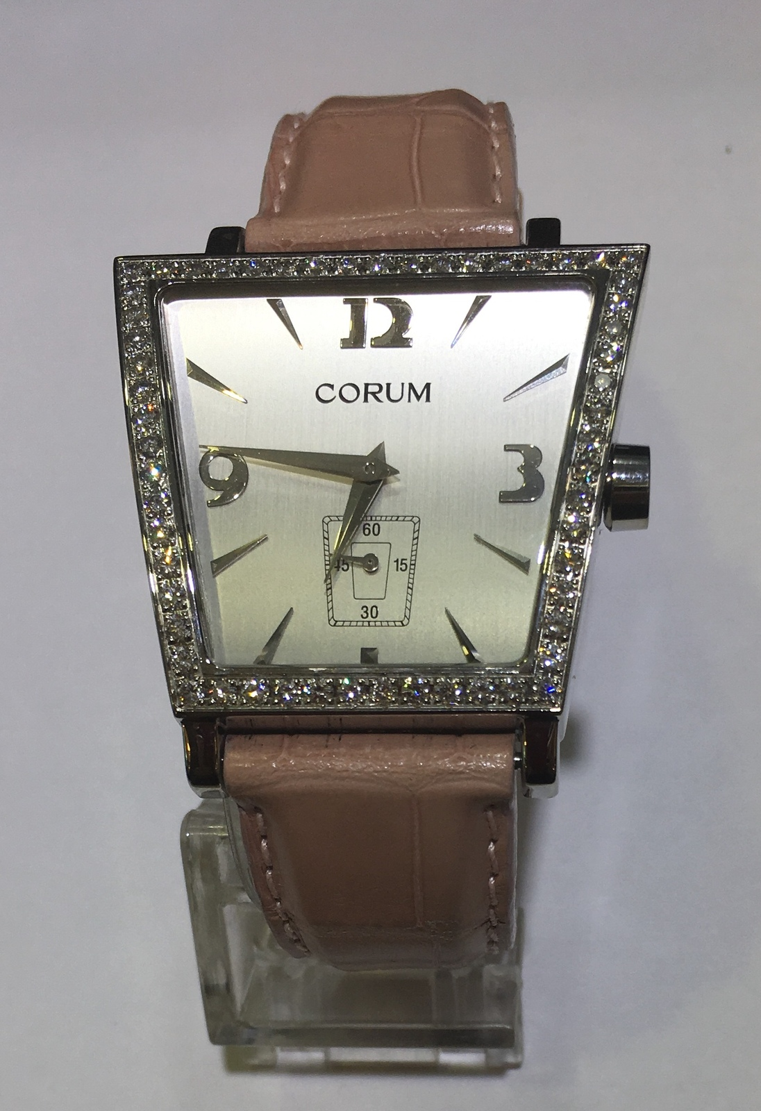 173a6cd7fd0e0 CORUM Trapeze Diamond Silver Dial Watch and 42 similar items