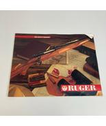 VTG 1990 Ruger 30 PG Color Gun Catalog Rifle Pistol Shotgun Advertise 8.... - $7.91