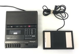 PANASONIC Model RR-830 Transcriber Dictaphone and Foot Pedal RP-2692  - $55.74