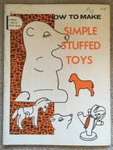 "Vintage How to Make Simple Stuffed Toys - A Drake ""How To"" Craft Book - $5.99"