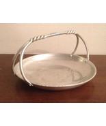 Buenilum Hand Wrought Aluminum Handled Serving Bowl Basket Tray - $17.77