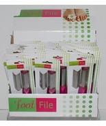 Countertop Display with 36 Individual Pink Foot Files - $34.99