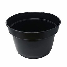 8 X sans Bpa Fabriqué UK Noir Plante Herbe Fleur Jardinière Jardin Culti... - $47.94