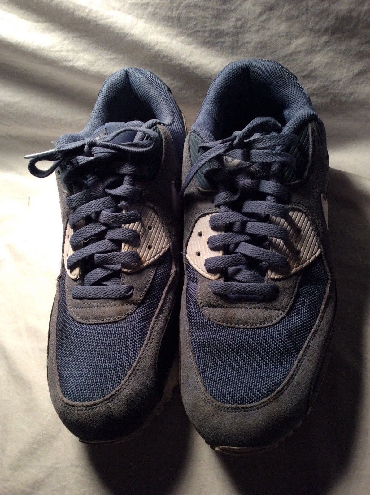 meet ca0bd 1725c Nike Air Max 90 Slate Ocean Fog Blue White and similar items