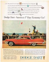 Vintage 1960 Magazine Ad For Dodge Dart 1st Fine Economy Car / Armour St... - $5.93