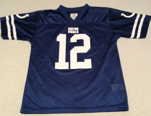 Primary image for Andrew Luck Youth Medium 8-10 Blue NFL Team Apparel Indianapolis Colts Jersey