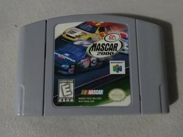 EUC NASCAR 2000 Nintendo 64 N64 Cart Only Free Ship - $12.86