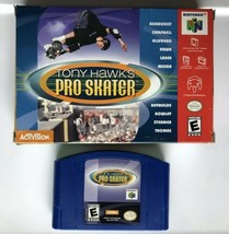 ☆ Tony Hawk's Pro Skater 1 (Nintendo 64 2000) AUTHENTIC N64 Game Cart & ... - $18.99