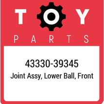 43330-39345 Toyota Ball Joint Lower, New Genuine OEM Part - $56.05